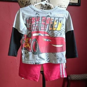 🐢3 for $9🐢 Disney Cars Lightning McQueen outfit
